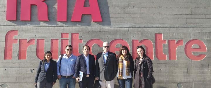 Una delegación de Perú visita Instituciones agroalimentarias de Cataluña