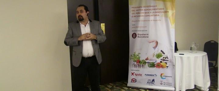 Conferencia sobre la «Valorización de recursos marinos con fines biotecnológicos»